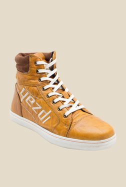 Yezdi By Red Tape Tan Casual Boots