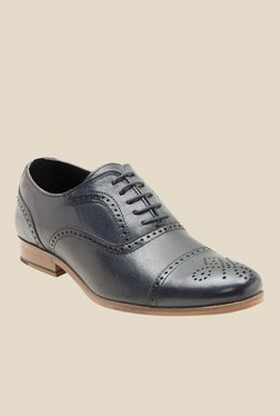 Red Tape Navy Brogue Shoes
