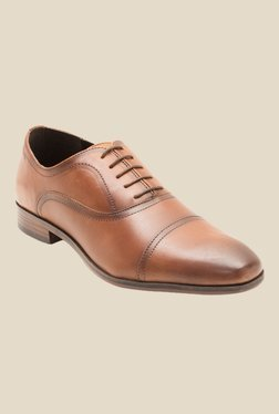 Red Tape Tan Oxford Shoes