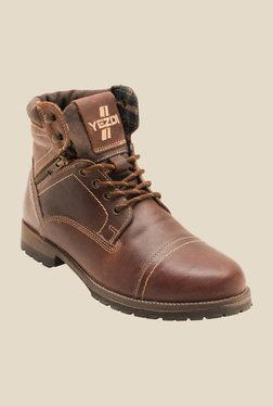 Yezdi By Red Tape Brown Casual Boots
