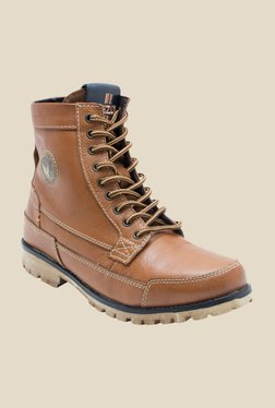 Yezdi by Red Tape Dark Tan Casual Boots