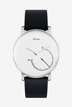 Withings HWA01 Activite Steel Tracking Watch (White/Black)