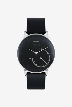 Withings HWA01 Activite Steel Tracking Watch (Black)