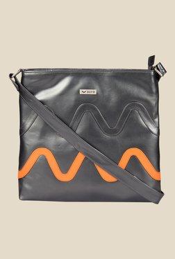 Bern Grey Textured Sling Bag