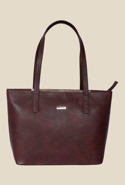 Bern Brown Double Handle Tote Bag