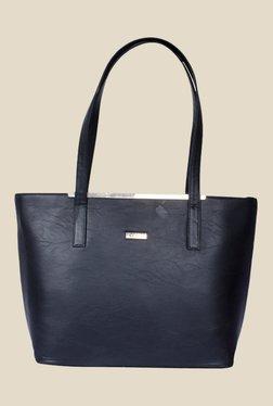 Bern Black Double Handle Tote Bag