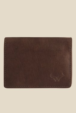 Bern Brown Leather Bi-Fold Wallet