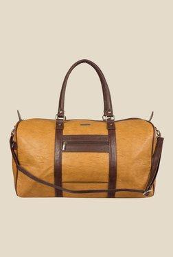 Bern Brown Solid Duffle Bag