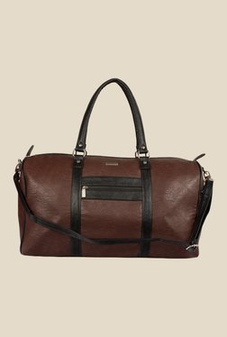 Bern Dark Brown Solid Duffle Bag