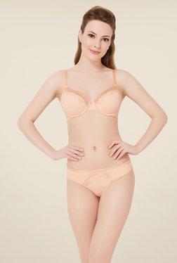Amante Peach Lace Bikini