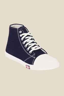 Ruggero All Stars Navy & White Sneakers