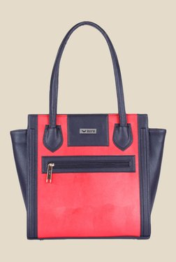 Bern Red Solid Trapeze Bag