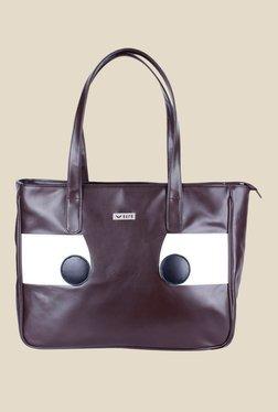 Bern Brown Solid Shoulder Bag