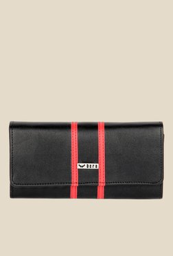 Bern Black And Red Solid Wallet