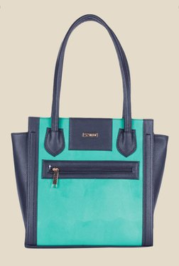 Bern Sea Green Solid Trapeze Bag
