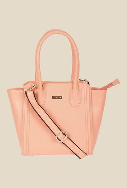 Bern Peach Solid Trapeze Bag
