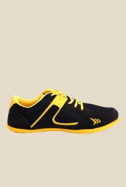 Mayor Amaze Black & Yellow Sneakers
