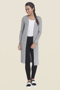 Only Grey Textured Shrug