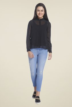 Only Black Solid Shirt