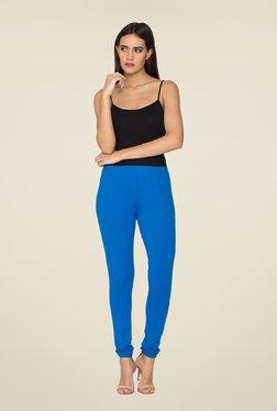 Libertina Royal Blue Solid Leggings