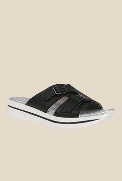 Tresmode Socho Black Casual Sandals