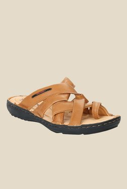 Red Chief Tan Casual Sandals