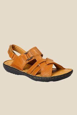 Red Chief Tan Back Strap Sandals - Mp000000000787202