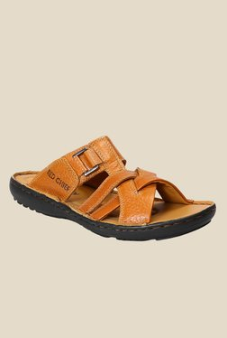 Red Chief Tan Formal Sandals - Mp000000000787873