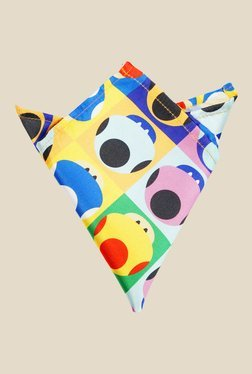 Blacksmith Mushroom Pop Art Print Multicolour Pocket Square