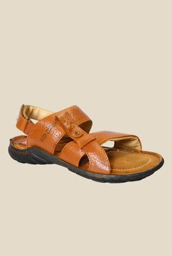 Red Chief Tan Back Strap Sandals - Mp000000000788422