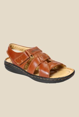 Red Chief Tan Back Strap Sandals - Mp000000000787505