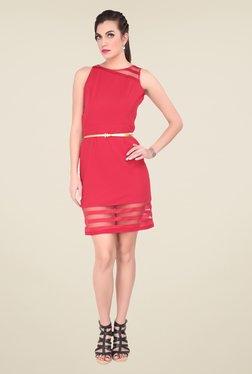Soie Coral Lace Dress