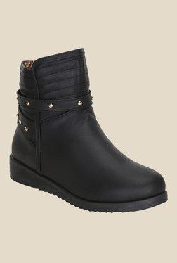 Kielz Black Casual Booties