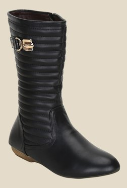 Kielz Black Casual Booties