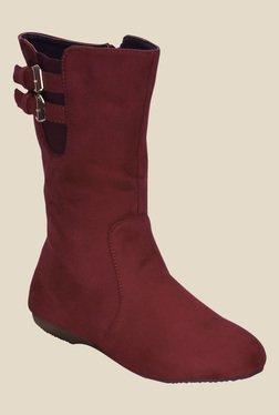 Kielz Red Casual Booties