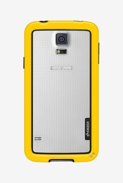 Amzer Border Case For Samsung Galaxy S5/S5 Neo (Yellow)