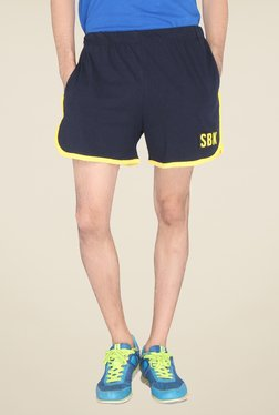 Lucfashion Navy Solid Shorts - Mp000000000791511