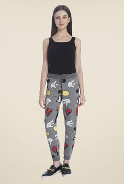 Only Grey Graphic Print Joggers