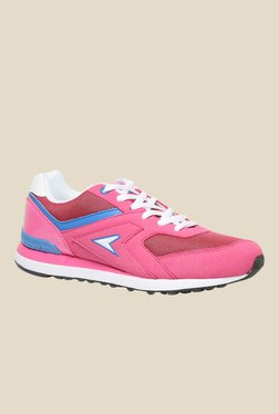 Power Stride Ind315 Pink Running Shoes