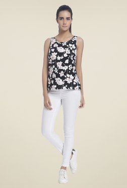 Vero Moda Black Floral Print Top - Mp000000000795914