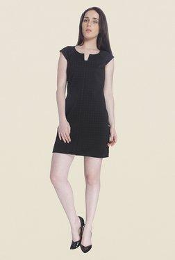 Vero Moda Black Self Print Dress