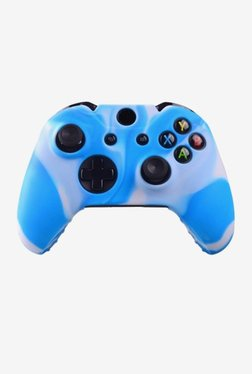 Microware Silicone Sleeve Gaming Accessory Kit (Blue/White)