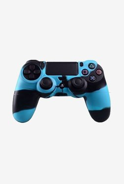 Microware Controller Sleeve Skin Cover for PS4 (Blue)