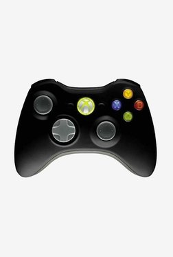 Microsoft Wireless Controller For Xbox 360 (Black)
