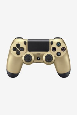Sony DualShock Wireless Controller Gamepad for PS4 (Gold)