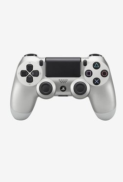 Sony DualShock Wireless Controller Gamepad for PS4 (Silver)