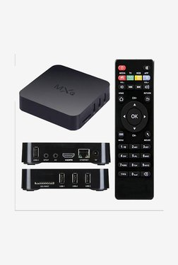 Microware MXQ Smart TV Box Mini PC Media Player (Black)