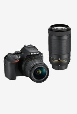 Nikon D5600 with (AFP 18-55 & 70-300mm VR Lens) DSLR Camera