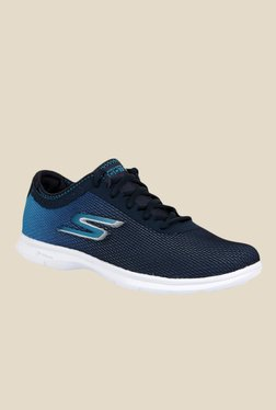 Skechers Go Step Cosmic Navy Blue Running Shoes