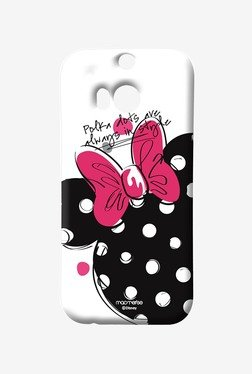 Macmerise Polka Minnie Sublime Case For HTC One M8